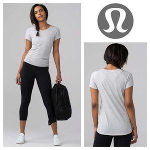 Lululemon Line Up Tee Short sleeve Cotton T-shirt